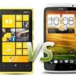 Сравнение Lumia 920 и HTC One X