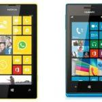 Nokia Lumia 520 vs Huawei Ascend W1