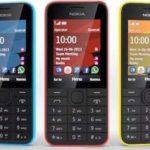 Nokia 207 и 208: Классические телефоны с поддержкой 3G и YouTube