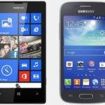 Nokia Lumia 520 vs Samsung Galaxy Ace 3: лучший бюджетный смартфон