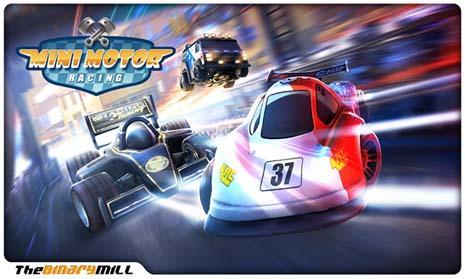 mini motor racing windows phone