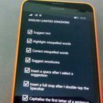 Как быстро набирать текст на Nokia Lumia?