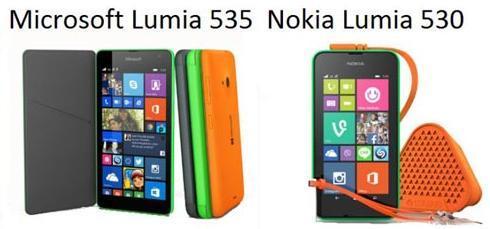 lumia 530 vs 535