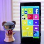 Видео: Техническая версия Windows 10 на Nokia Lumia 830