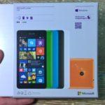 Распаковка Microsoft Lumia 535: Обзор и фотографии