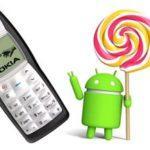 Перевоплощение Nokia 1100: смартфон с 4х-ядерным процессором на Android 5.0.