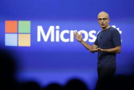 Сатья Наделла Microsoft