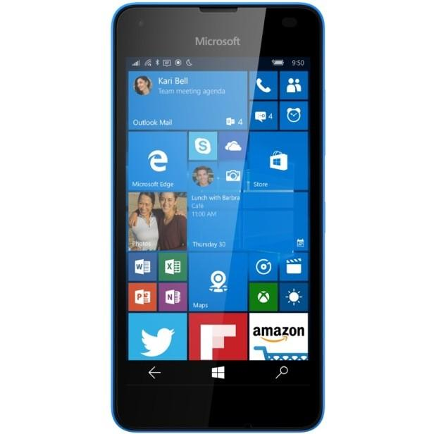 lumia 550 bright blue