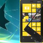 Пошаговая инструкция:  Замена стекла (тачскрина) на Lumia 920