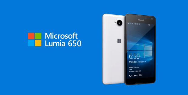 смартфон lumia 650