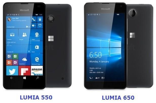 lumia 550 vs lumia 650