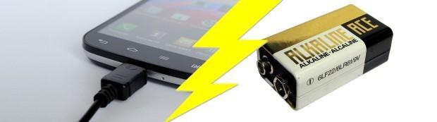 как зарядить батарею телефона напрямую