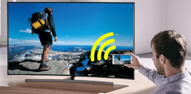 как подключить телефон к телевизору через WiFi