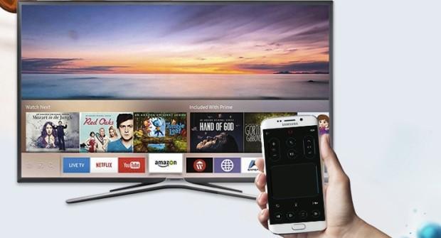 как подключить смартфон с смарт телевизору Самсунг
