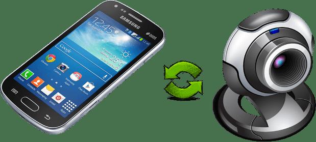 как подключить веб-камеру к телефону