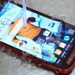 Что делать если упал в воду телефон Samsung?