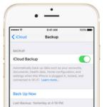 Как сделать резервную копию iPhone через iTunes?