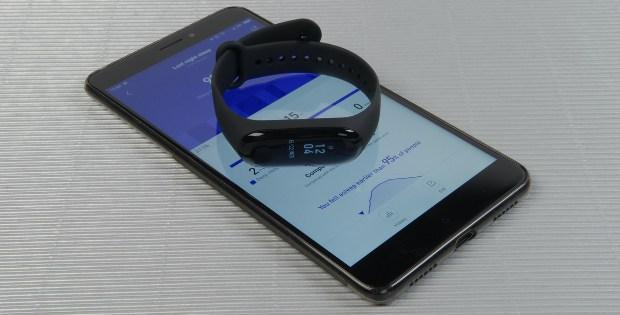 синхронизация Xiaomi Mi Band 3 с телефоном через Mi Fit