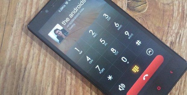 вызов на Xiaomi