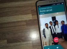 входящий звонок на Xiaomi Redmi
