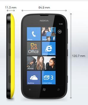 Nokia Lumia 510 фото