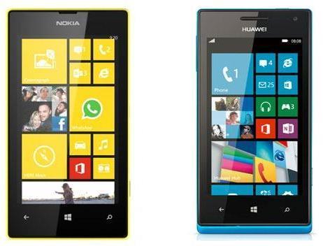 NokiaLumia520vsHuaweiAscendW1 - Обзор смартфона Huawei P20 Lite:  характеристики и фото