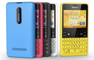 Nokia Asha 210 - фотографии