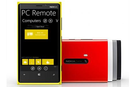 pc remoteLumia - Как управлять компьютером с помощью смартфона Lumia?