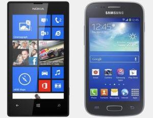 lumia 520 vs galaxy ace 3