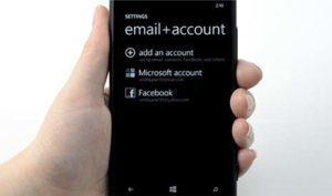 Настройка электронной почты на Nokia Lumia