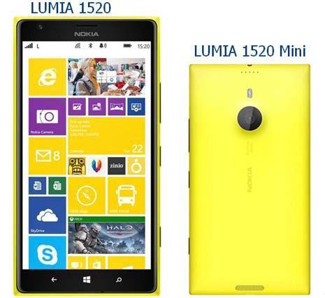 Lumia 1520 Mini