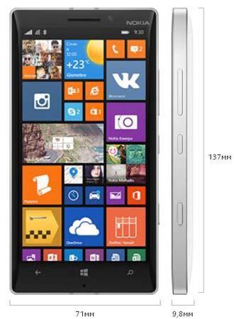 характеристики lumia 930