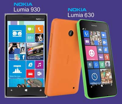 приобрести lumia 630  и Lumia 930