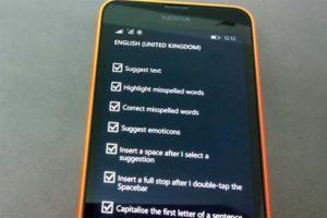 Клавиатура Windows Phone 8.1