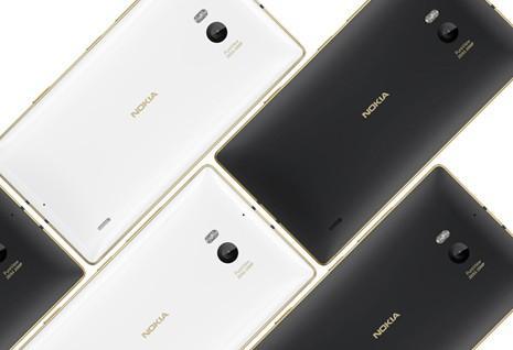 Lumia 830 и 930 в золотом цвете