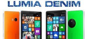 обновление Lumia Denim