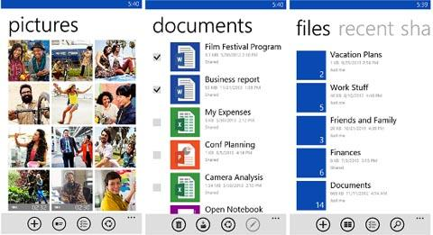 OneDrive для Windows Phone 8.1