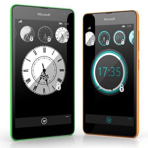 часы для Windows Phone