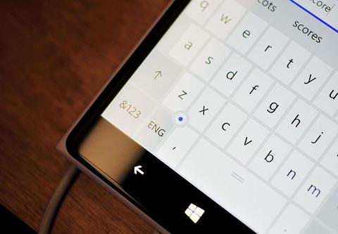 Клавиатура на Windows 10