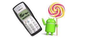 Nokia 1100 на Android 5.0