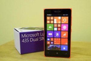 обзор lumia 435
