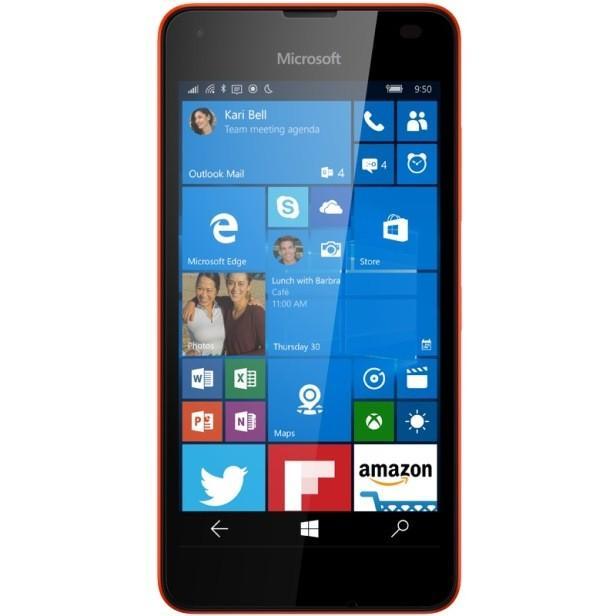 lumia 550 bright red