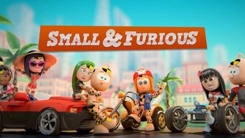 Small & Furious - весёлые гонки в мультяшном мире