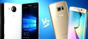 lumia 950xl vs galaxy s6