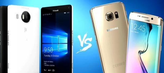 lumia 950xl vs galaxy s6