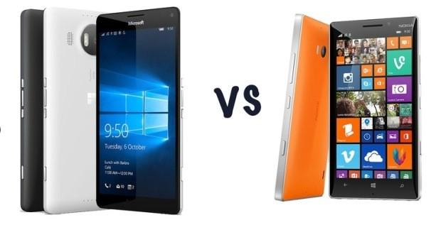 lumia 950 xl vs lumia 930
