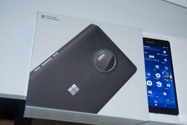 коробка lumia 950 xl