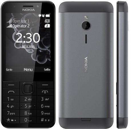 нокиа 230 - кнопочный телефон с больши экраном