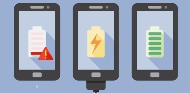 как заряжать новую батарею телефона