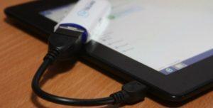 Как подключить USB флешку к планшету